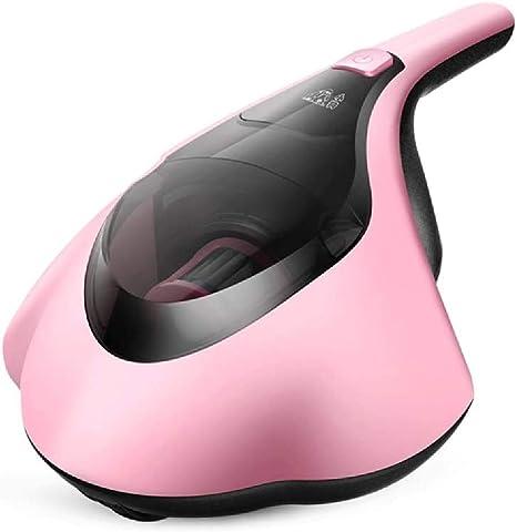 PUPPYOO Aspiradoras de Futones Mini limpiador Para Eliminar Acaros de Hogar con UV Luz de Rayos Ultravioleta, Aspirador de Mano para Colchones, Modelo WP607,Color Rosado: Amazon.es: Hogar