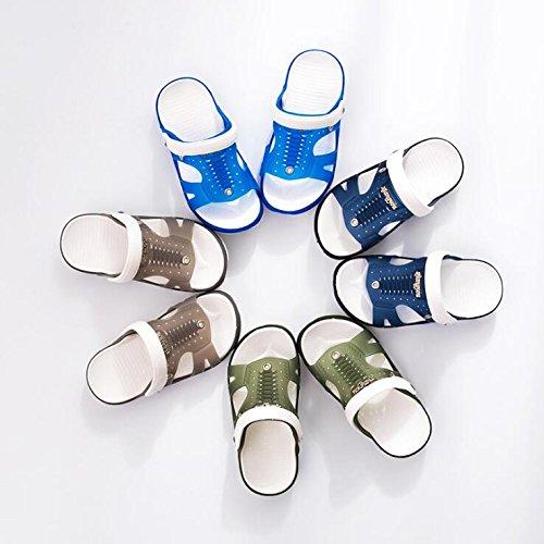 Sommer Badeschuhe Farbe gezeigt Wie SUxian Creative Hausschuhe 39 Outdoor Dunkelblau Rutschfeste Hausschuhe Hausschuhe Hausschuhe Größe Sandalen 5SqtvA7nq