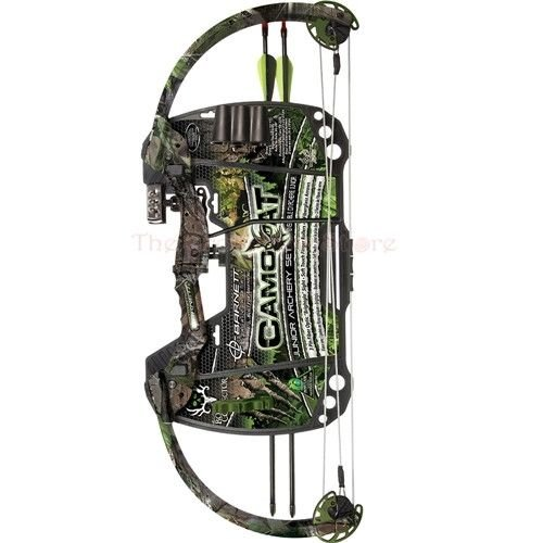 Barnett Junior Archery Set Camo Cat Compound Bow, Right H...
