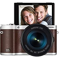 Samsung NX300M Mirrorless Digital Camera with 18-55mm f/3.5-5.6 OIS Lens (Brown) - International Version (No Warranty)