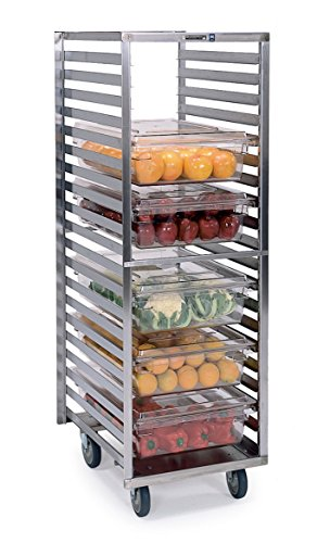 Lakeside 166 Stainless Steel Lexan Box Rack - Holds (20) 18