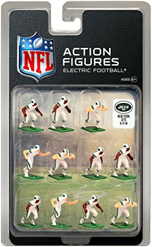 (New York Jets Away Jersey NFL Action Figure Set )