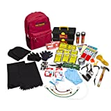 Best Overall Disaster & Emergency Survival Kit Professional & Heavy Duty Backpack – Ideal For Earthquakes/Floods/Hurricanes – Comprehensive selection of survival supplies for two people