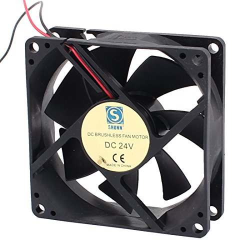 Dc Brushless Fan Motor : Uxcell dc v mmx mm vanes brushless fan motor