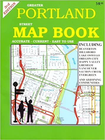 Portland Map Book Gm Johnson Metro Map Books Gm Johnson And