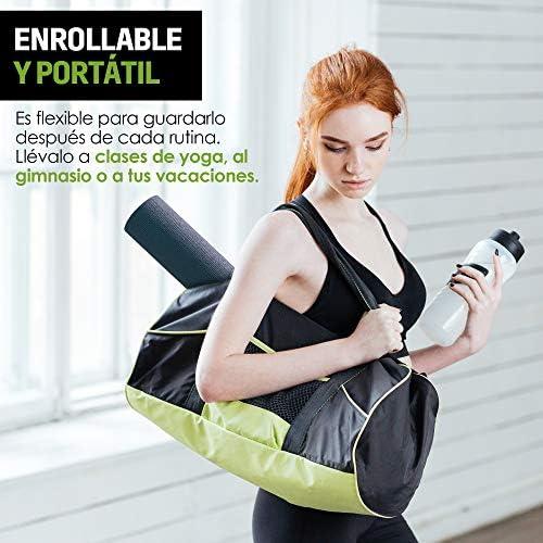 Redlemon Tapete de Yoga, Yoga Mat de 6mm de Grosor, Diseño Bicolor Ultrasuave, Antideslizante, Resistente, Flexible, Fácil de Limpiar, Enrollable. Ideal Para Pilates, Fitness, Meditación y más 9
