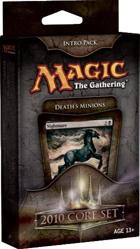 Magic the Gathering- MTG: Magic 2010 Core Set - Theme Deck - Intro Pack Black...