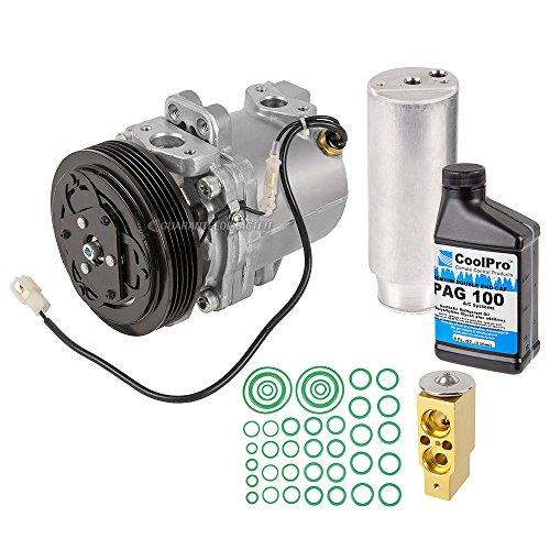 (AC Compressor w/A/C Repair Kit For Suzuki Esteem 1999-2002 - BuyAutoParts 60-82751RK)