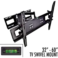 Apontus Universal TV Wall Mount HDTV OLED LED LCD Flat Panel (32-65 Swivel Deluxe)