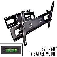 Apontus Universal TV Wall Mount HDTV OLED LED LCD Flat Panel (32-65 Swivel Deluxe)
