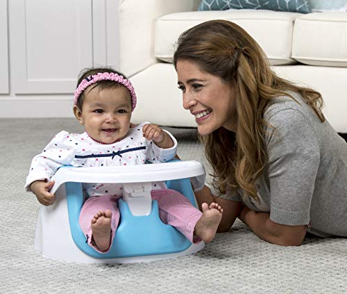 Regalo National Award-Winning Grow with Me Floor Seat and Activity Chair with Removable Feeding Tray and Soft Foam Seat, (Best Regalo Summer Infant Kid Booster Seats)