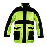 Vega Rain Jacket (Hi-Visibility Yellow, XXX-Large) by Vega Technical Gear