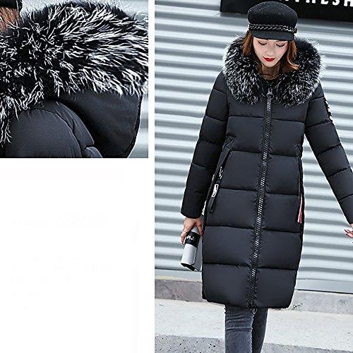 Covermason Zip À Jacket Long Femme Hiver Veste Uni Manteau Elegant YSzYqxw