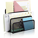 Workablez Mail Organizer - Sturdy Letter Organizer With 3 Sections - Perfect Desktop File Organizer For All Your Files, Folders, Documents, Mails