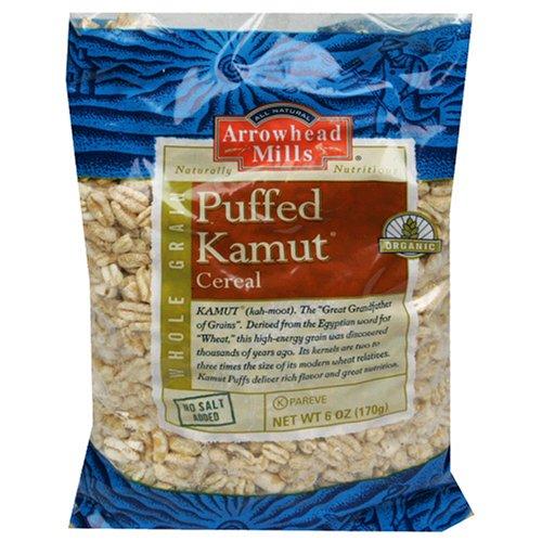amazon com arrowhead mills cereal puffed kamut 6 oz pack of 12
