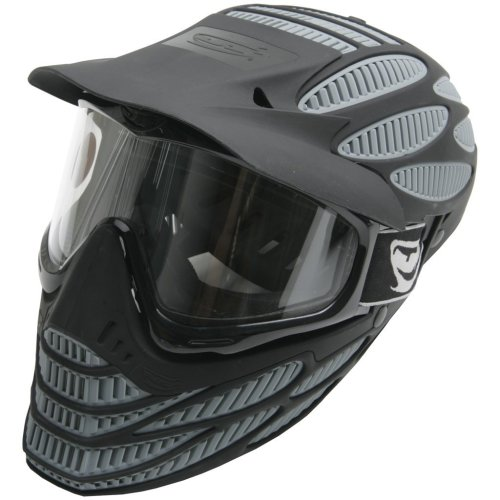 JT Flex-8 Head Guard Grey (Jt Black Thermal Paintball Mask)