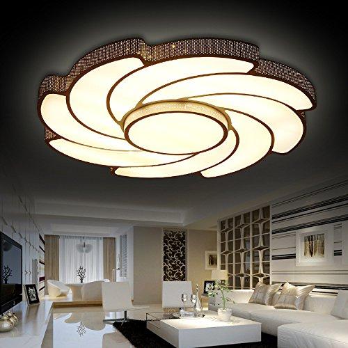Cttsb Art Ceiling Light Art Ceiling Lamps Bedroom Lights Lotto Room Lights Flower Windmills, Size: D600 100 / 36W,