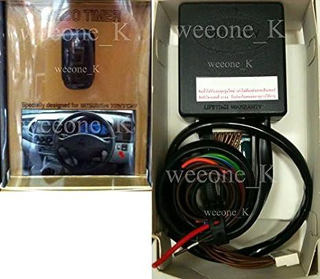 Full Auto Turbo Timer Control del Motor Mitsubishi L200 Triton 2006 - 2014 pastilla V.2: Amazon.es: Coche y moto