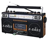 Old school meets new school with QFX's AM/FM/shortwave/cassette player, the ReRun X. Bust out those Wu-Tang tapes from high school and a couple of D batteries for hours of stripped-down beats and bass-heavy nostalgia on the go! Are your tapes...