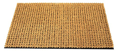 Envelor Home and Garden Coco Coir Cluster Outdoor Welcome Doormat 18 x 30 Inches Entrance (Front Cluster)