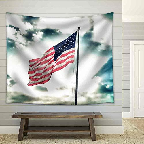 Flag of United States of America Fabric Wall