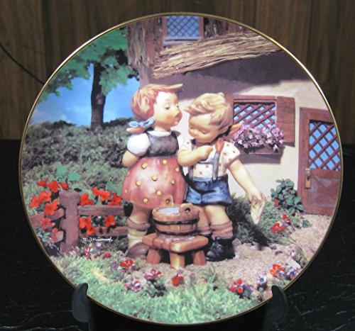 The Danbury Mint M J Hummel Collector Plate Little Companions -