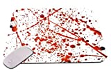 1 X Blood Splatter Mouse Pad