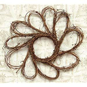 Grapevine Twig Woven Sunflower Wreath Country Primitive Wall Décor 99