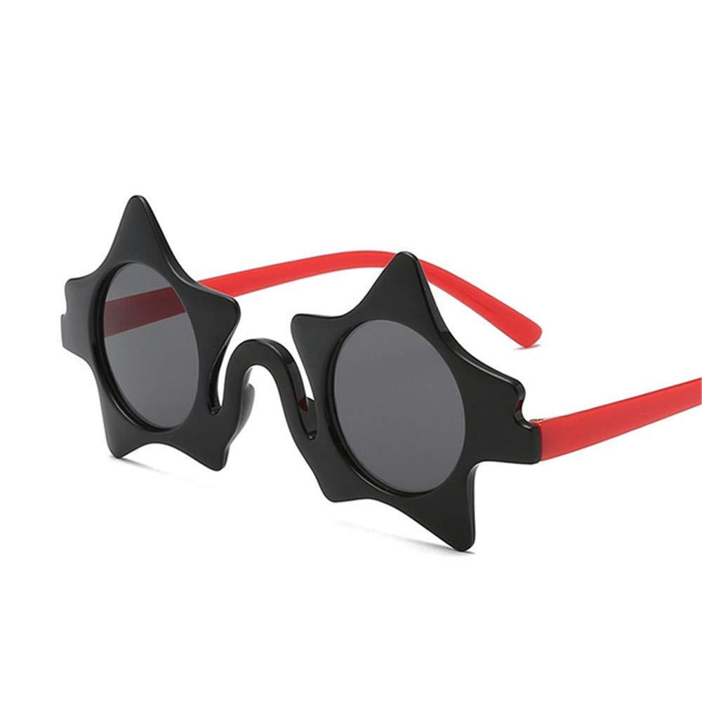 Wang-RX Pentagrama para niños Gafas de sol para niños Gafas ...