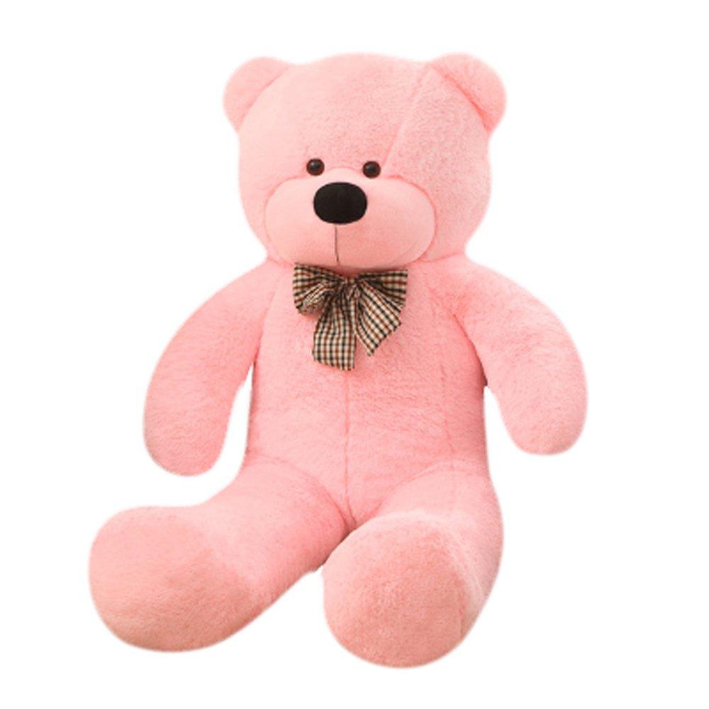Oso de peluche gigante Cute Rosa Suave Juguetes para novia morismos 80 cm32