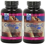 Super Collagen+c (Type 1&3) ((2) x 250) by Neocell