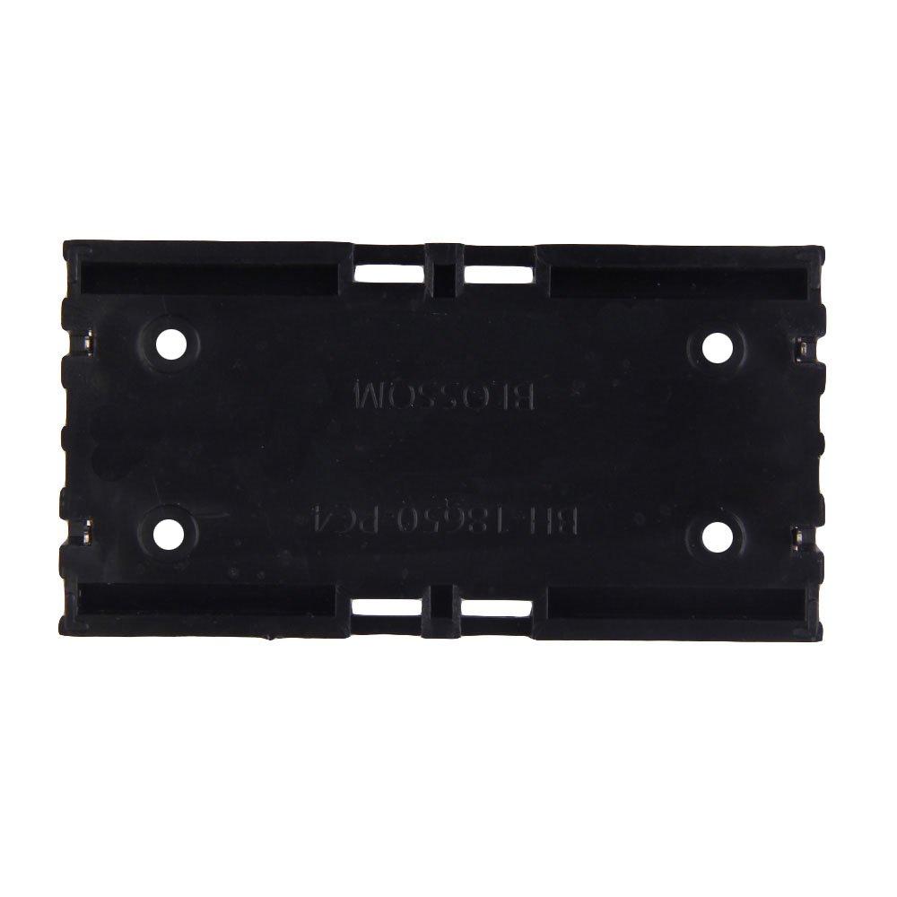 Everpert Battery Box Holder Batteries Coque pour 18650/en parall/èle 3.7/V Pole /à souder