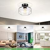 Industrial Ceiling Light Semi Flush