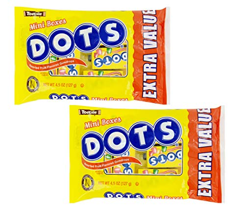 - Dots Mini Boxes 2 Pack, 9oz Net Weight
