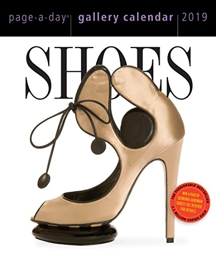 Shoes Page-A-Day Desk Gallery Calendar 2019 [6.25