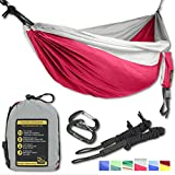 Why you should prefer GOLDEN EAGLE products: ✅ You will get BEST QUALITY camping hammocks and accessories at affordable prices. Clients consider our products to be of ENO quality.  ✅ We offer a 2 YEAR WARRANTY on all our products for manufacturing d...