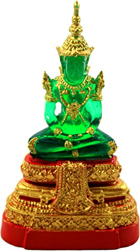 Thai Emerald Buddha Statue Best Amulet by Luckythings