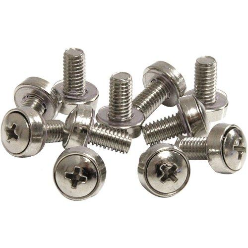 Startech.Com 50 Pkg M6 Mounting Screws For Server Rack Cabinet - Rack Screw - 50 / Bag