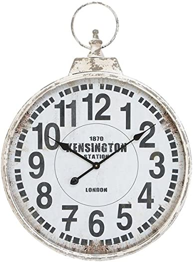 Deco 79 52118 Metal Wall Clock, 32 x24