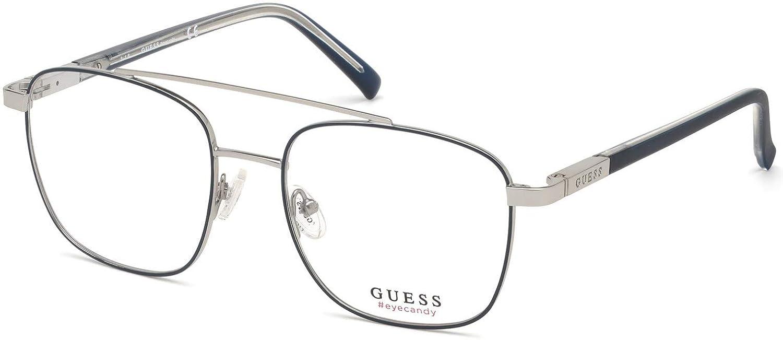 Guess Occhiali da vista GU 3038 090 blu lucido