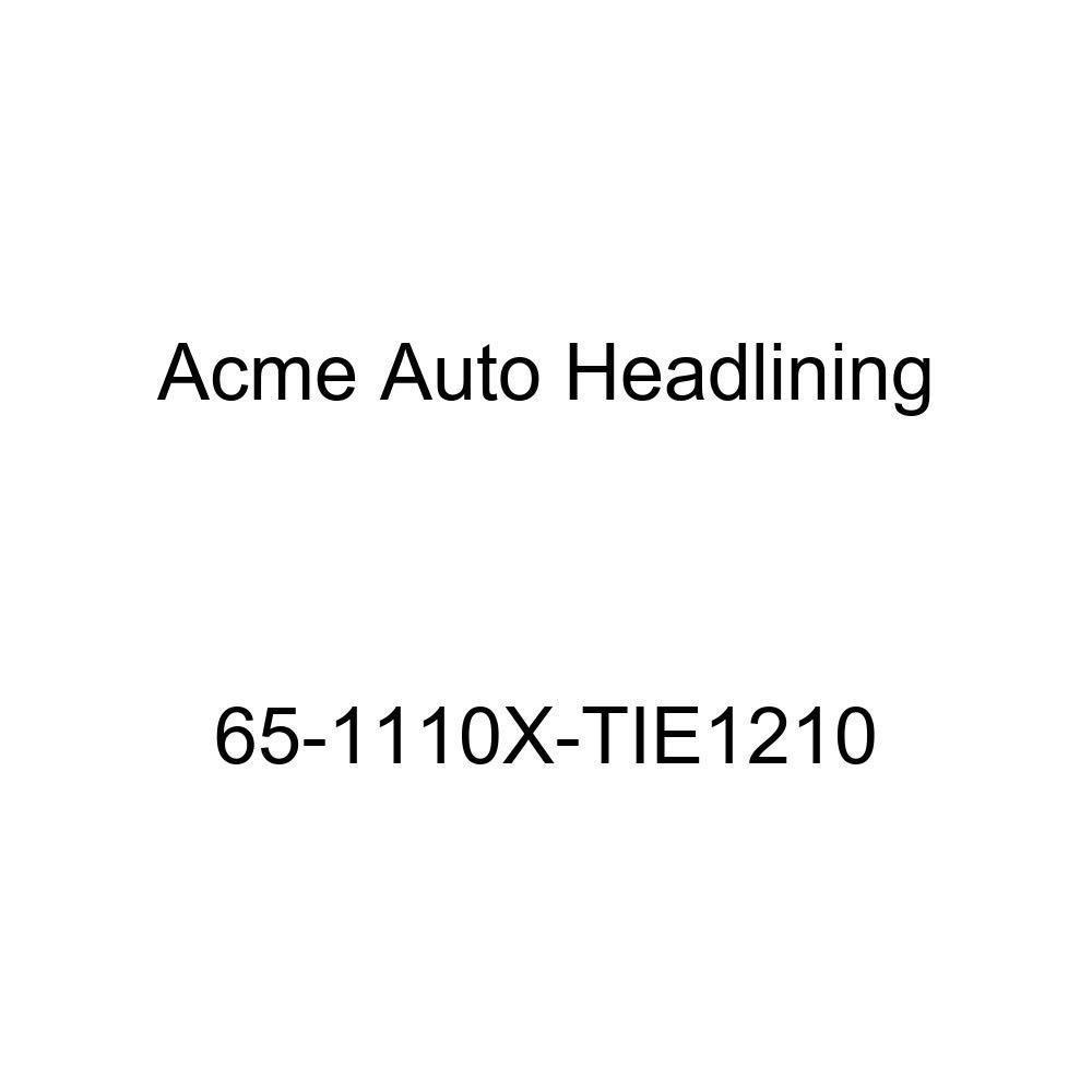 Acme Auto Headlining 65-1110X-TIE1210 Maroon Replacement Headliner Conversion Buick Wildcat 2 Dr Hardtop w//Original Board Headliner