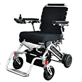 999UL Right Hand Control (2 batteries+2 yrs warranty+Free travel bag) Open/Fold in 1 second now. The lightest & most compact powered wheelchair in the world (only 43 lbs+3 lbs per Li-ion battery)