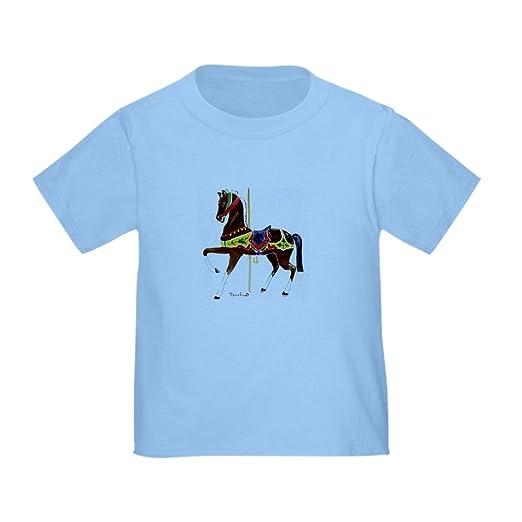 aa7ff3e29 Amazon.com  CafePress - Carousel HorseToddler T-Shirt - Cute Toddler ...