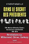 Dans le secret des présidents par Nouzille