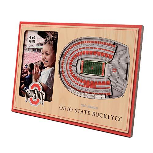 NCAA Ohio State Buckeyes 3D StadiumViews Picture Frame
