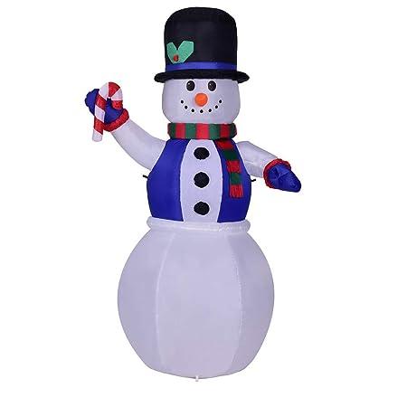 showsing Sombrero de Navidad Hinchable con luz de Navidad, diseño ...