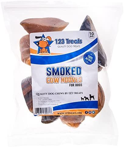 Scott Pet 1 Piece Wrapped Smoked Cow Hoof Dog Treat