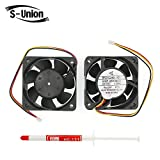FanEngineer Generic New Cooling Fan BKO-C2461H07 for Melco Technorex MMF-06D24DS Series Replacement Parts FC5 24VDC 0.09A 3 wire Dimensions:606025.2 mm