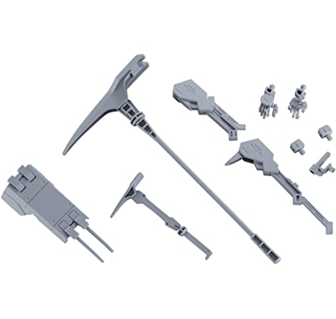 Japan Import 2 Bandai Hobby HG Mobile Suit Option Sets Option Set 1 with CGS Mobile Worker and Option Set 4 with Union Mobile Worker