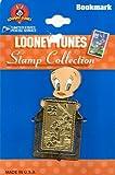 LOONEY TUNES STAMP COLLECTION BOOKMARK TWEETY BIRD METAL POSTAGE STAMP BOOKMARK